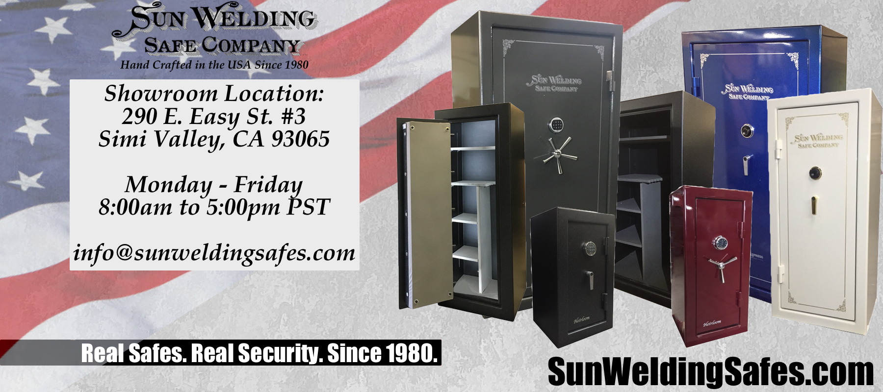 USA Made Customizable Safes : Sun Welding Safe Co